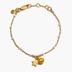 Madewell Smiley Face Chain Bracelet - NWT